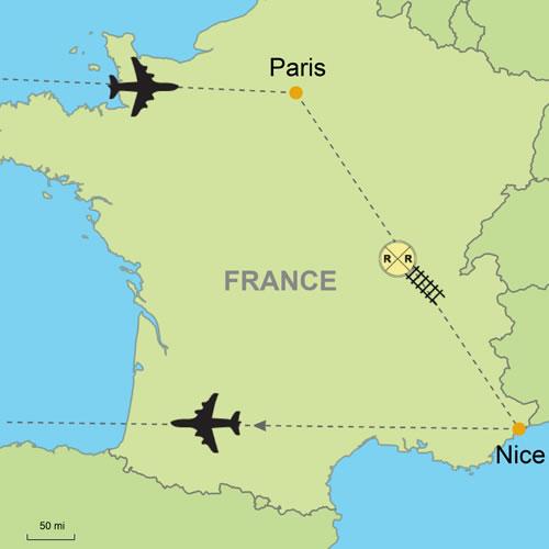 Paris nice customizable itinerary from europeandestinations paris nice gumiabroncs Choice Image