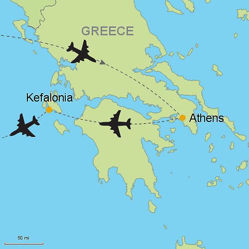 Athens And Kefalonia Island Customizable Itinerary From